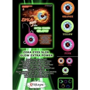BOTTOM FISHING JIG HEAD ZOKA (eyes slim extra power glow) 260gr