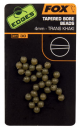 EDGES: TAPERED BORE BEADS 4mm