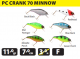 PowerCatcher: Crank 70 Minnow