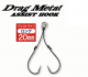 Drag Metal Hayagake Assist Hook 20mm - front/prednja DM-HWF