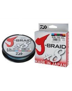 J-BRAID x8 300mt Multicolor