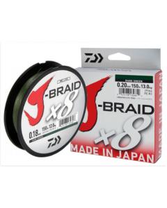 J-BRAID x8 150mt - Dark Green