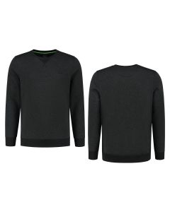 CREW NECK JUMPER (Charcoal)