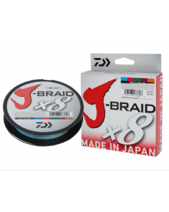 J-BRAID x8 MULTICOLOR 300mt