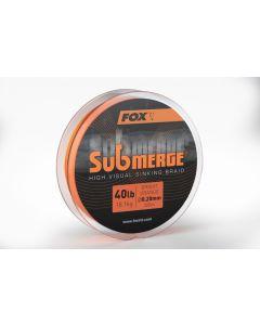 SUBMERGE (high visual sinking braid) Bright Orange - 300mt